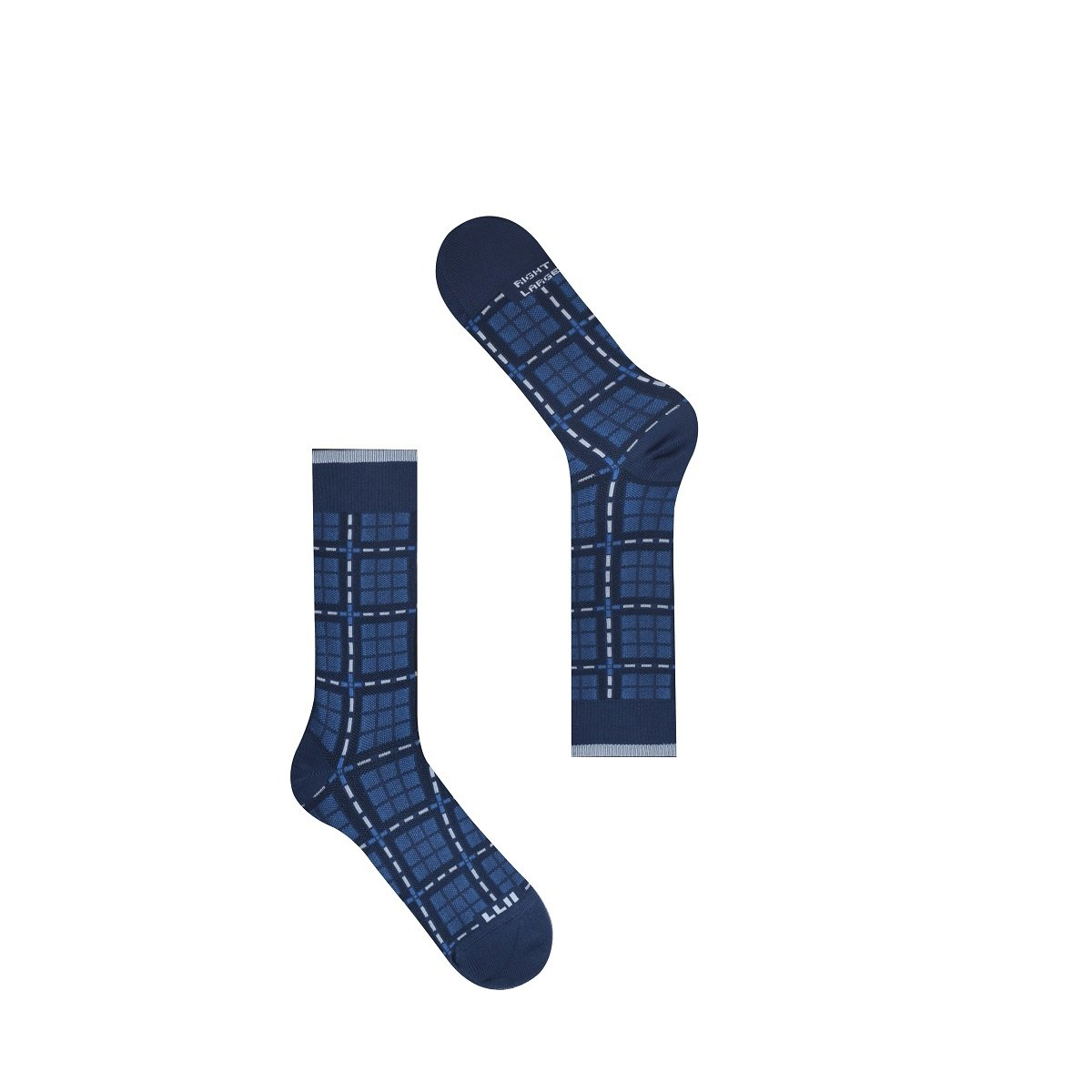 Modern Check Socks