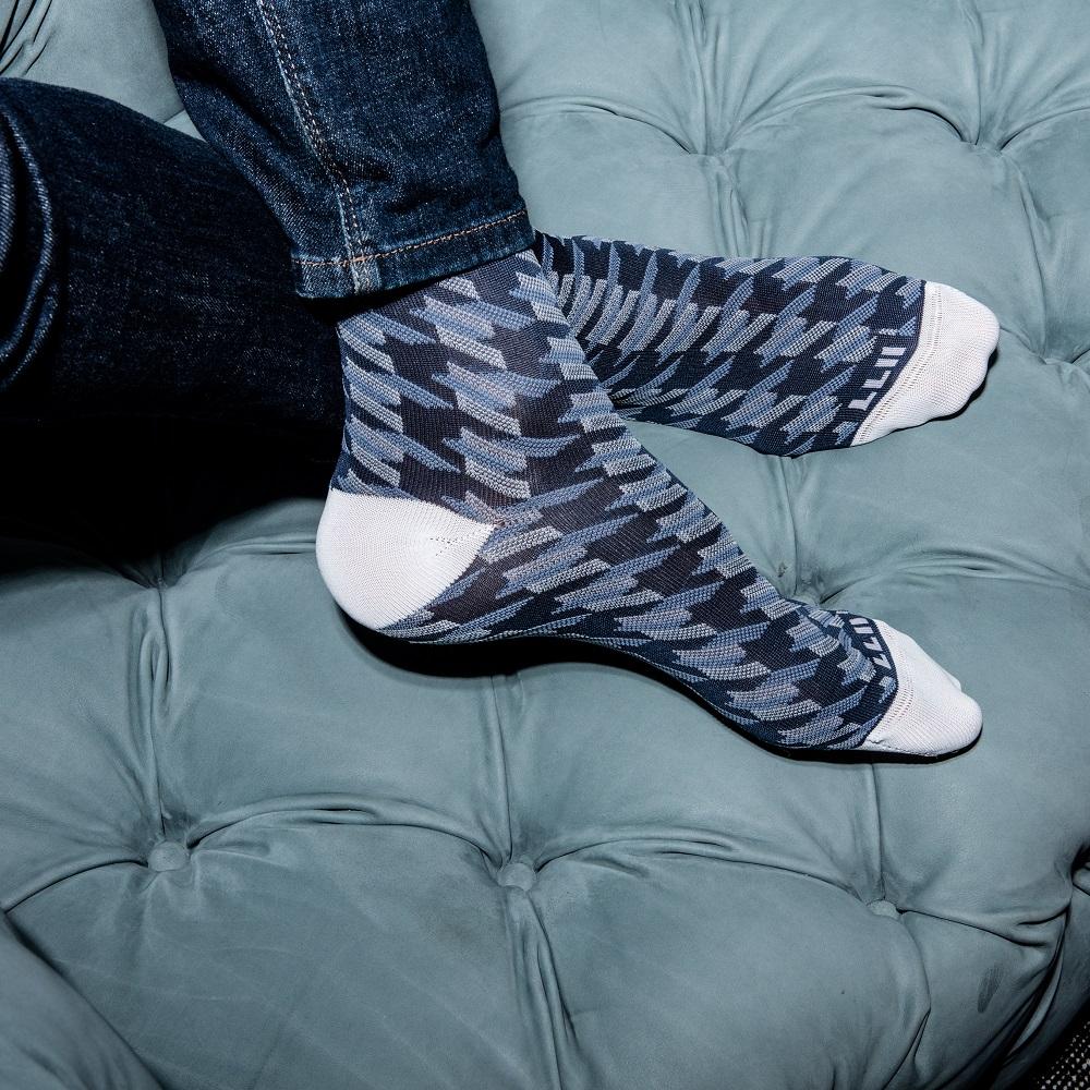 Calze uomo pied de poule