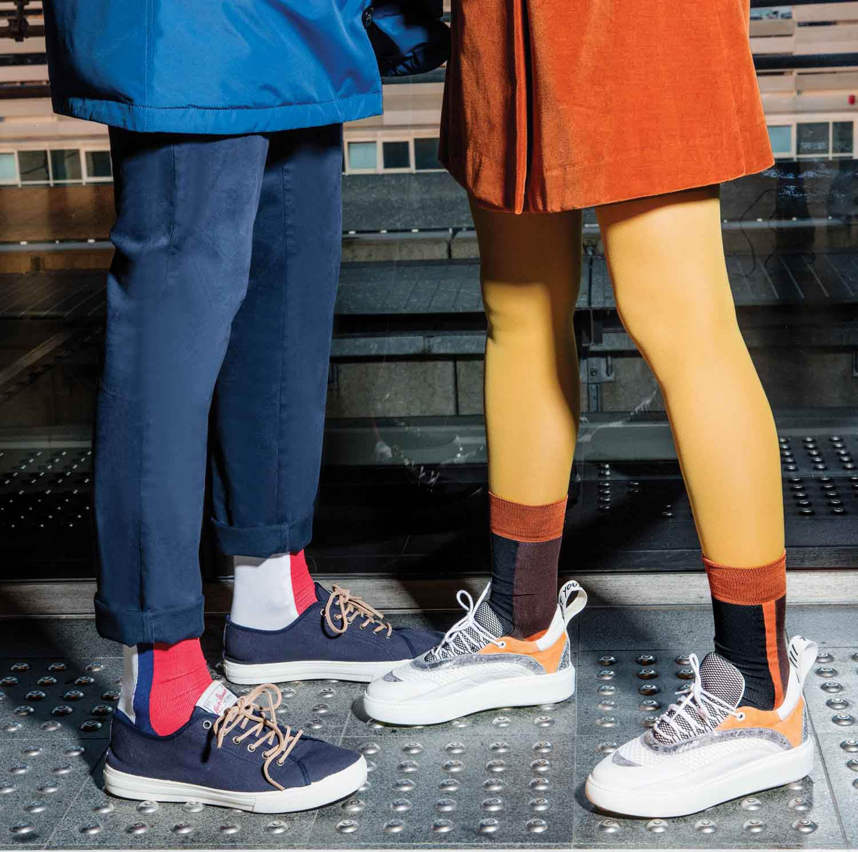 Color Blocks Socks