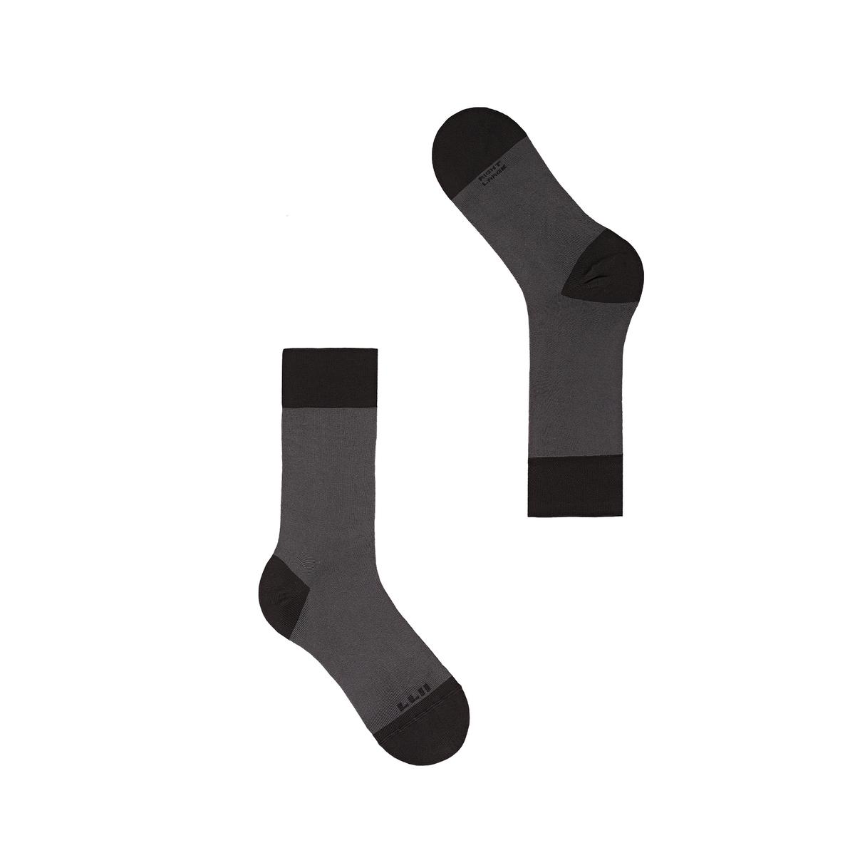 Bicolor Blocks Socks