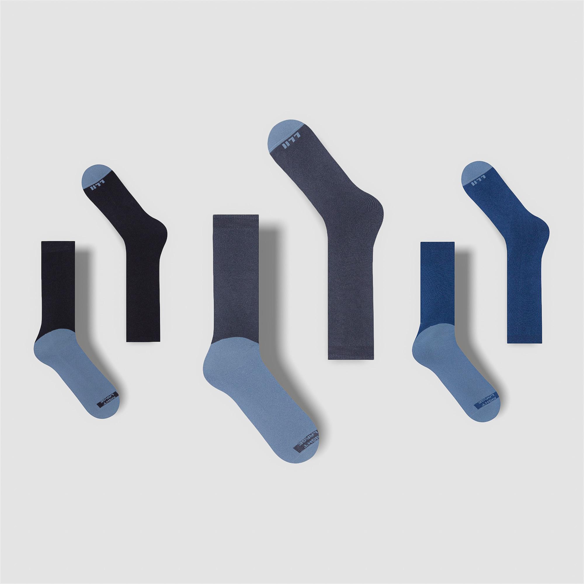 Comfy Multipack – 3 Pairs of Short Socks