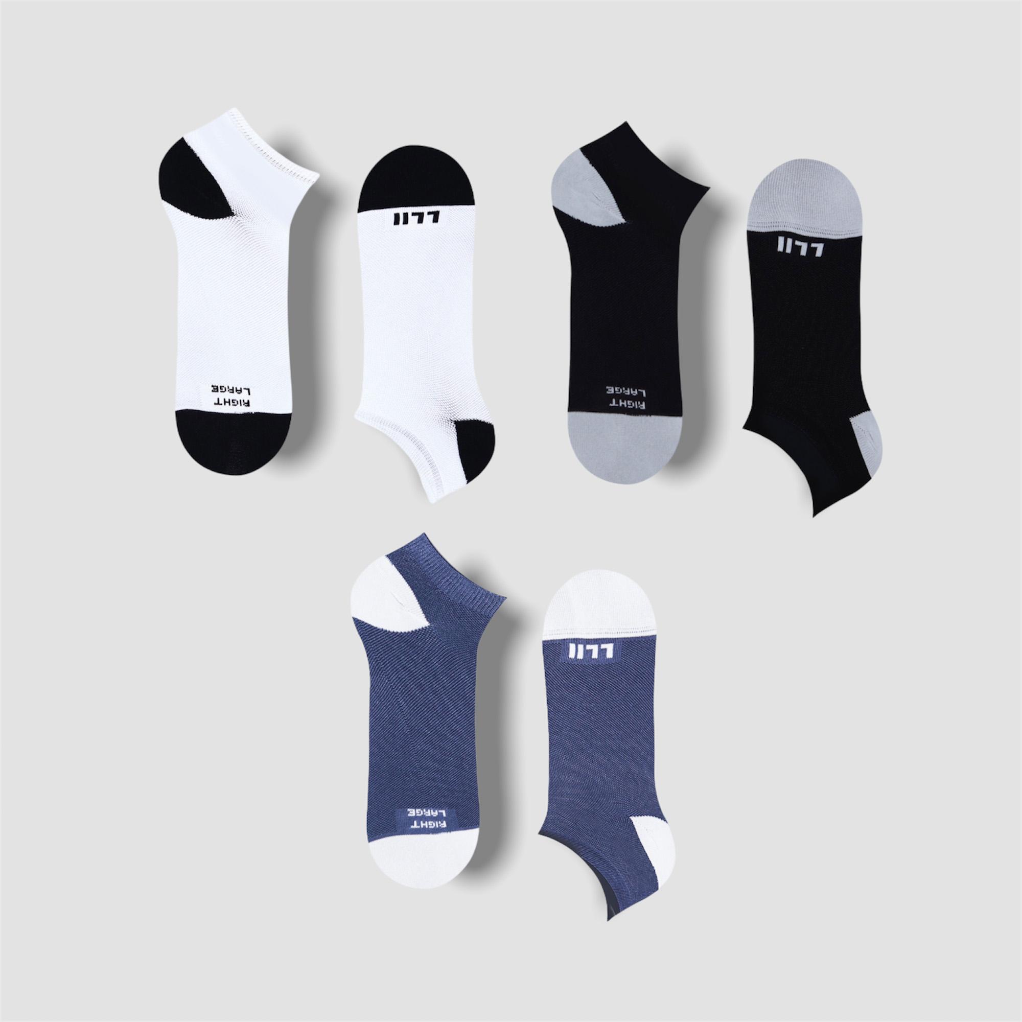 Jack Multipack – 3 Pairs of Low Socks