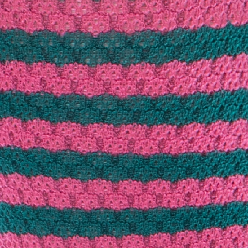 Stripe Knit Knee High
